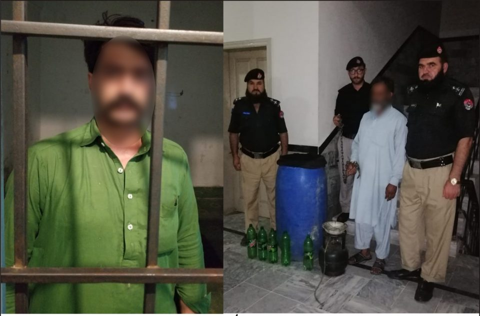 26 agust 960x633 - Operation by Charbagh Police, 150 litres Liquor recovered, Accused arrested