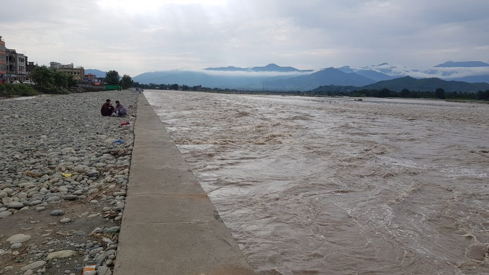 swat saywriter 960x540 - Water level has fallen down to routine flow in Swat River